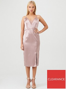 little-mistress-satin-lace-trim-midi-dress-taupe