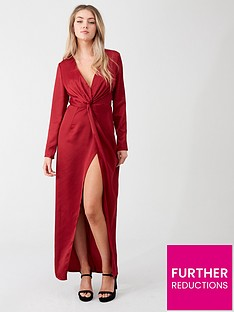 little-mistress-v-neck-maxi-dress-ruby