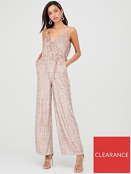 little-mistress-wide-leg-sequin-jumpsuit-mink
