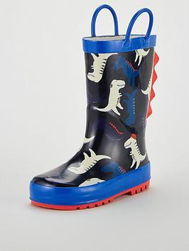 v-by-very-dinosaur-wellie-navy
