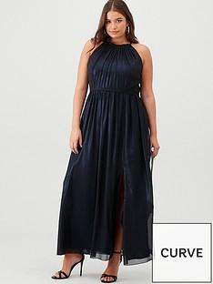 little-mistress-curve-maxi-halter-neck-dress-blue