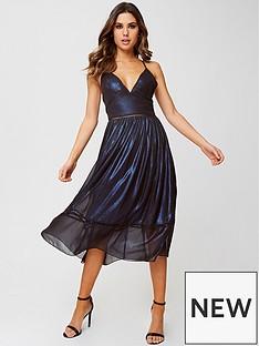 little-mistress-petite-shimmer-midi-dress-blue