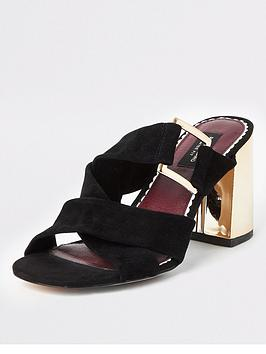 river-island-river-island-wide-fit-suede-block-heel-sandal-black