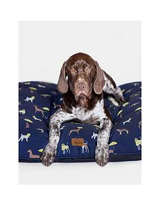 joules-coastal-collection-dog-mattress-bed-navy