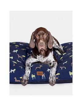 joules-joules-coastal-collection-dog-mattress-bed