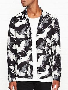 allsaints-tsuru-bird-print-shirt-black