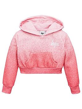 hype-girls-cropped-hoodie-pink