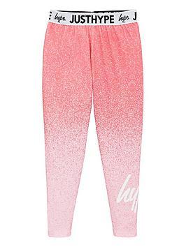 hype-girls-speckle-waistband-leggings-pink
