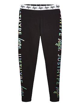 hype-girls-holographic-waistband-leggings-black