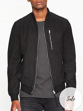 allsaints-stones-suede-bomber-jacket-blacknbsp