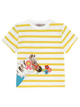 cath-kidston-girls-short-sleeve-pony-t-shirt-off-white