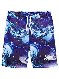 hype-boys-moons-script-jog-shorts-blue