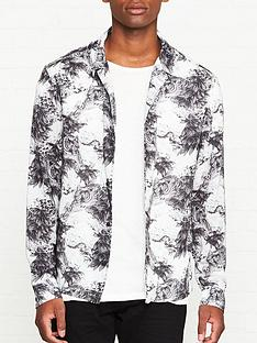 allsaints-amagi-tiger-print-shirt-grey