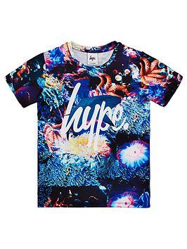 hype-boys-octo-palace-short-sleeve-t-shirt-multi