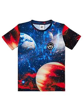hype-boys-sunburst-short-sleeve-t-shirt-multi