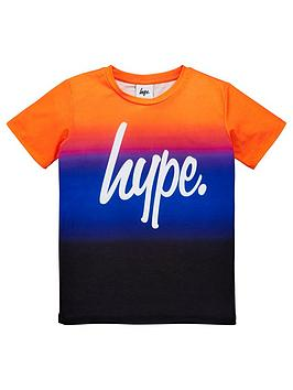 hype-boys-sunbeam-fade-short-sleeve-t-shirt-multi