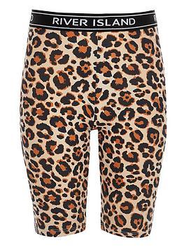 river-island-girls-beige-leopard-print-cycle-shorts