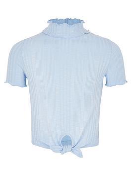 river-island-girls-blue-high-neck-tie-front-t-shirt
