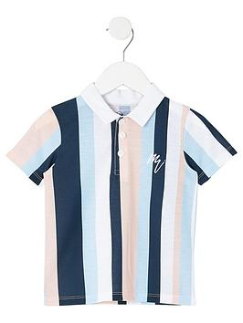river-island-mini-boys-white-stripe-polo-shirt