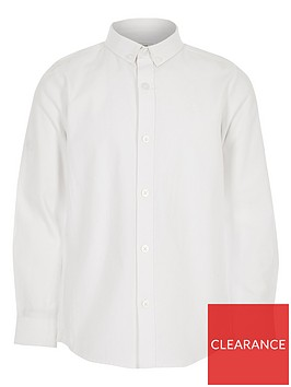 river-island-boys-twill-long-sleeve-shirt-white