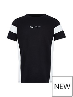 river-island-boys-black-river-t-shirt