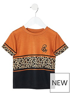 river-island-mini-boys-orange-leopard-print-t-shirt