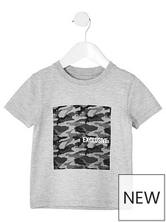 river-island-mini-mini-boys-camo-t-shirt-grey-marl