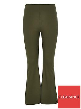 river-island-girls-flared-trousers-khaki