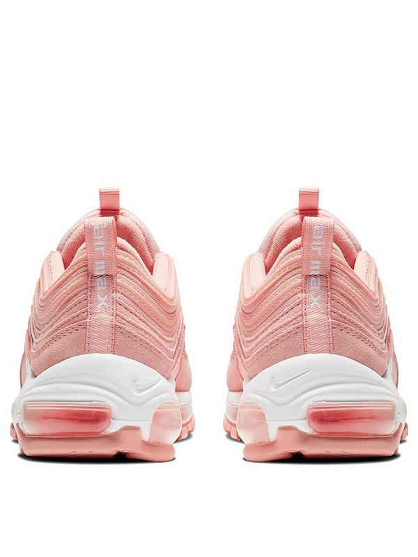 Air Max 97 Junior Trainers Coral Pink