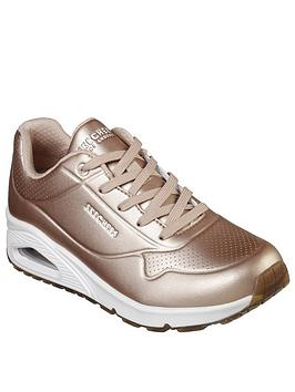 skechers-unonbspbold-trainer-rose-gold