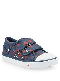 start-rite-zip-canvas-shoes-navy