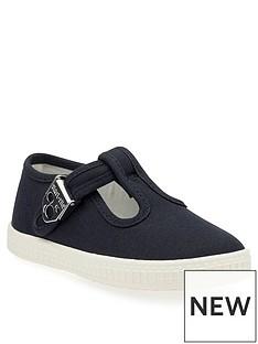 start-rite-wells-canvas-shoes-navy