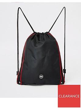 river-island-boys-rvr-drawstring-bag-black