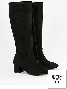 evans-evans-extra-wide-fit-lastretch-stretch-knee-high