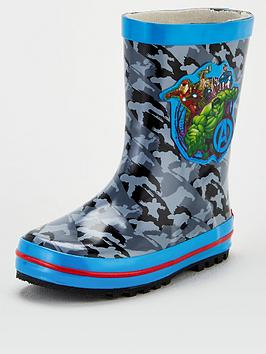 marvel-toddler-boys-wellies-multi