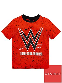 wwe-boys-all-over-print-paint-splatter-tee-red