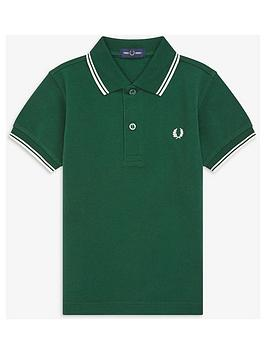 fred-perry-boys-twin-tipped-short-sleeve-polo-shirt-dark-green