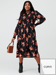 junarose-curve-salyz-printed-midi-dress-blackfloral