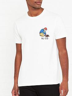 nudie-jeans-roy-multi-logo-boy-t-shirt-off-white