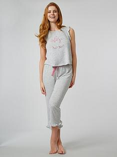 boux-avenue-stripe-eyelash-culottenbsppyjama-set-grey-mix