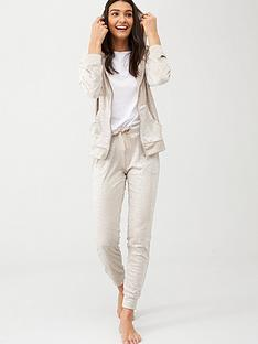 boux-avenue-star-velour-jogger-cream