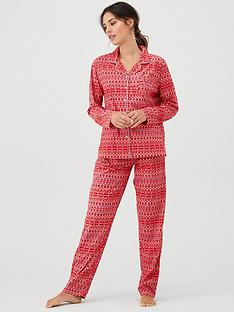 boux-avenue-christmas-fairisle-pj-in-a-bag-red-mix