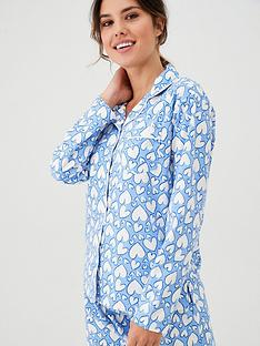 boux-avenue-heart-pj-in-a-bag-blue-mixnbsp