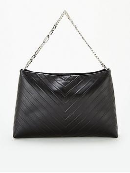 karen-millen-avery-shoulder-bag-black