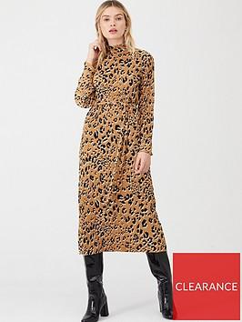 v-by-very-printed-plisse-midi-dress-animal