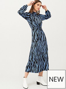 v-by-very-animal-high-neck-jersey-maxi-dress-blue