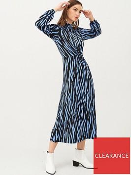 v-by-very-animal-high-neck-jersey-maxi-dress-blue