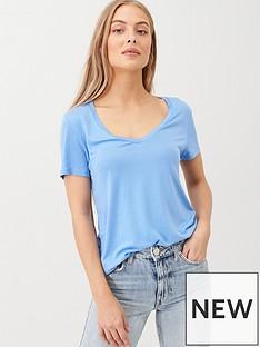 v-by-very-the-essential-v-neck-t-shirt-blue