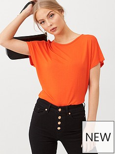 v-by-very-the-essential-scoop-neck-t-shirt-orange