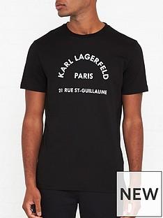 karl-lagerfeld-paris-address-t-shirt-black